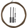 Shimano cable de cambio - Cables de cambios y fundas para cables de cambios - MTB/Carretera recubierta de polímero Plateado
